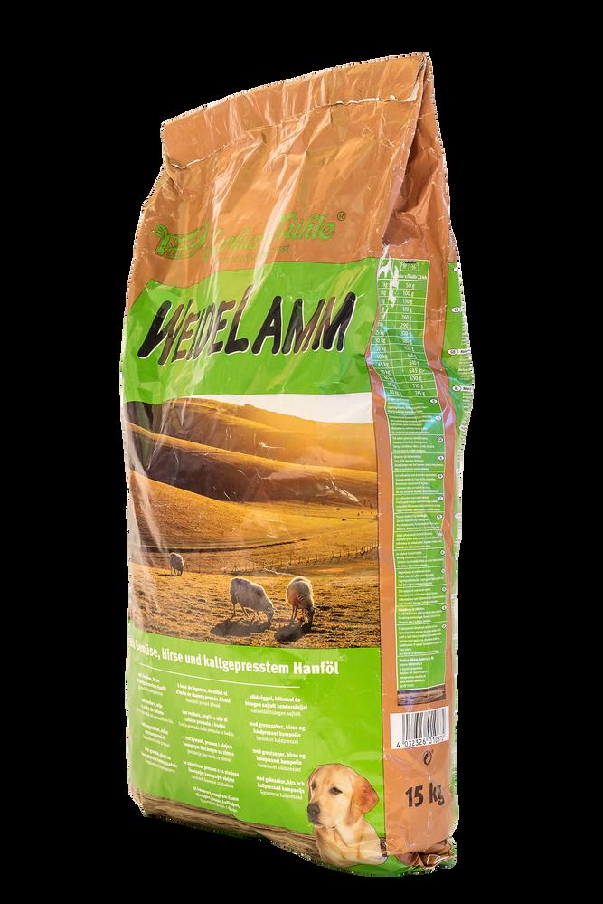 c2b02021a8849e Markus-Muhle WEIDELAMM корм для собак с мясом ягненка, 15 кг, Упаковка  производителя
