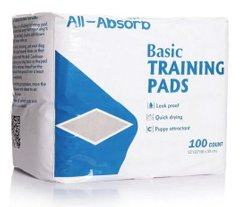 Пеленки для собак All-Absorb Basic Training Pads 56х56см, 1шт., 56х56 см