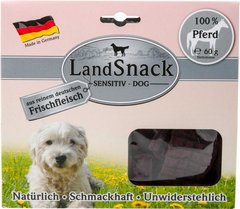 Снеки із конини LandSnack Dog Sensitiv Pferd